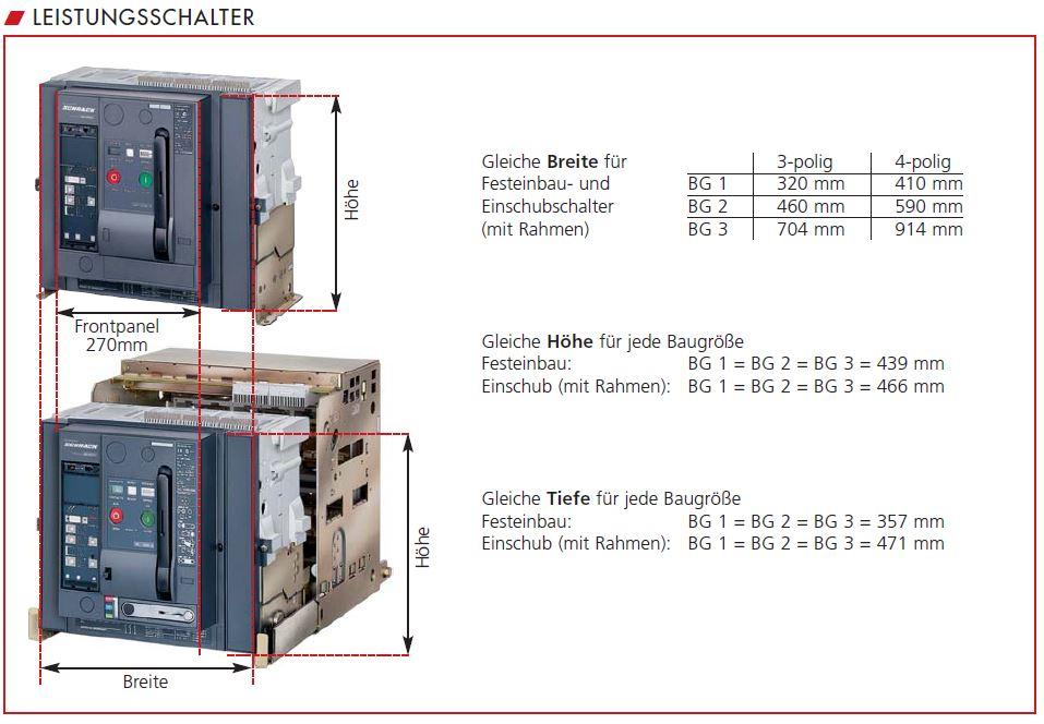 Offener Leistungsschalter MO - Schrack Technik